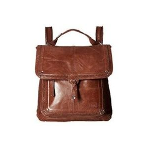 The Sak Ventura Leather Backpack Convertible Purse